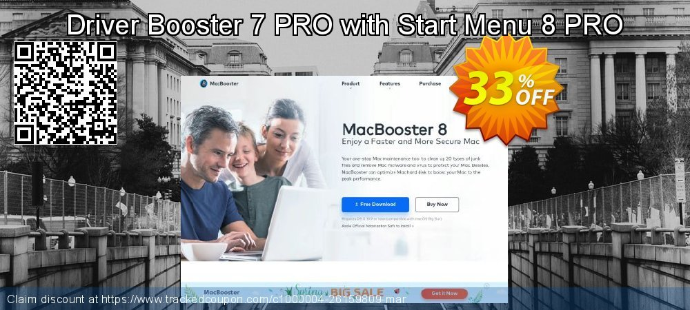 Driver Booster 7 PRO with Start Menu 8 PRO coupon on Back to School promo discounts