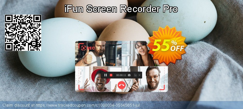 iFun Screen Recorder Pro coupon on National Singles Day promotions