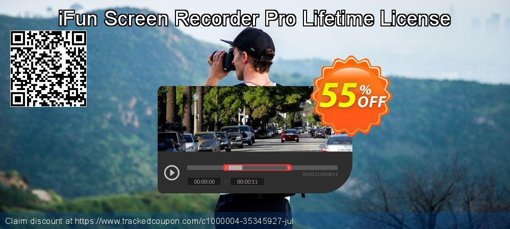 iFun Screen Recorder Pro Lifetime License coupon on Autumn offering sales