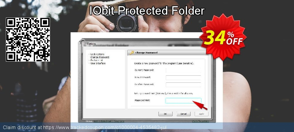 Get 30% OFF IObit Protected Folder offering sales
