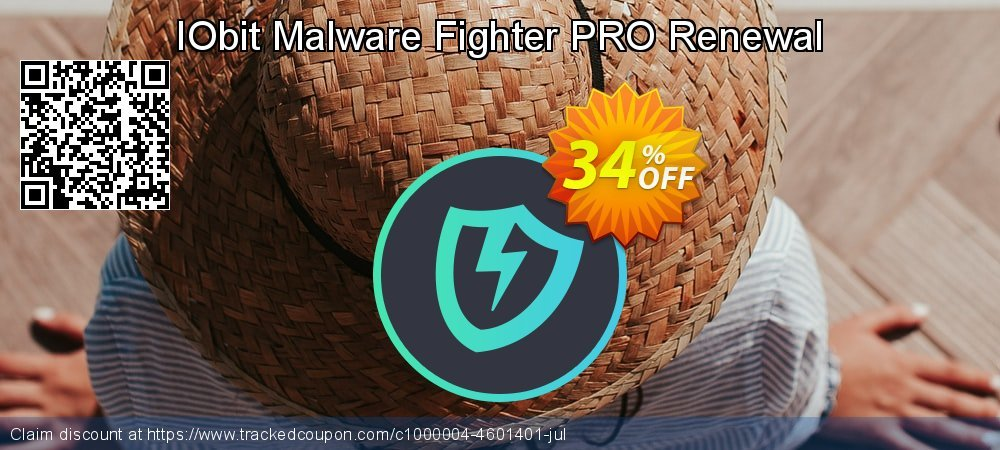 IObit Malware Fighter PRO Renewal coupon on College Student deals sales