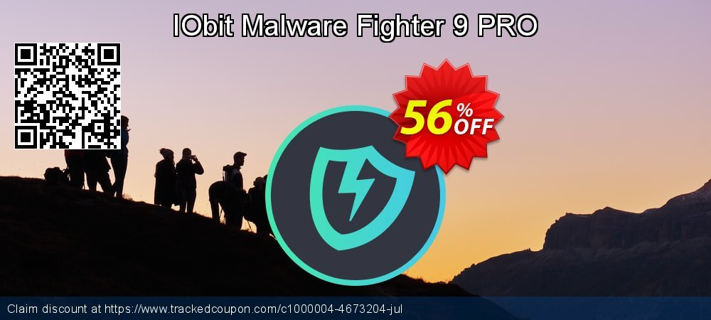 IObit Malware Fighter 7 PRO coupon on New Year's Day offering sales