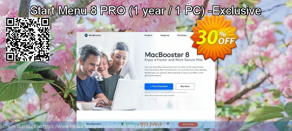 Start Menu 8 PRO - 1 year / 1 PC -Exclusive coupon on Exclusive Teacher discount super sale
