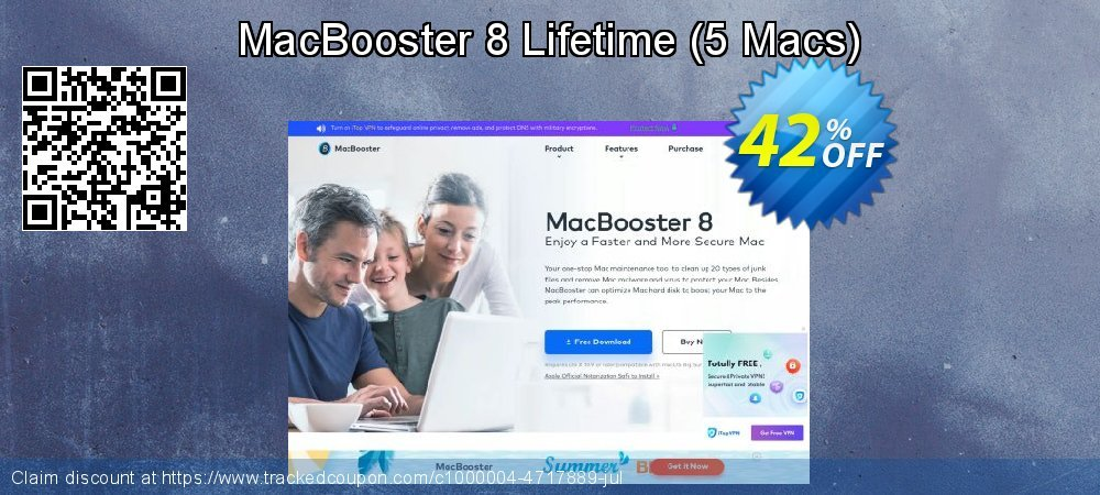 MacBooster 8 Lifetime - 5 Macs  coupon on American Chess Day offer