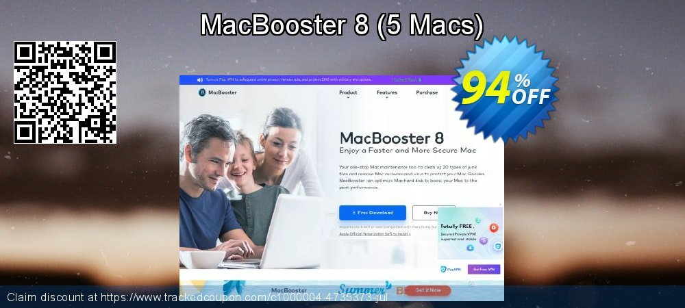 MacBooster 8 - 5 Macs  coupon on Exclusive Teacher discount promotions