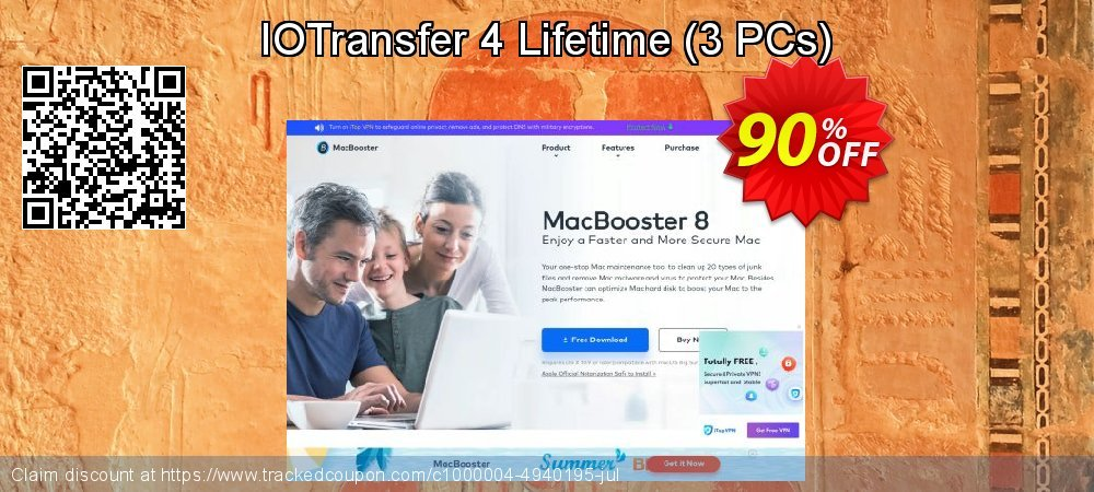 Get 89% OFF IOTransfer 3 promo