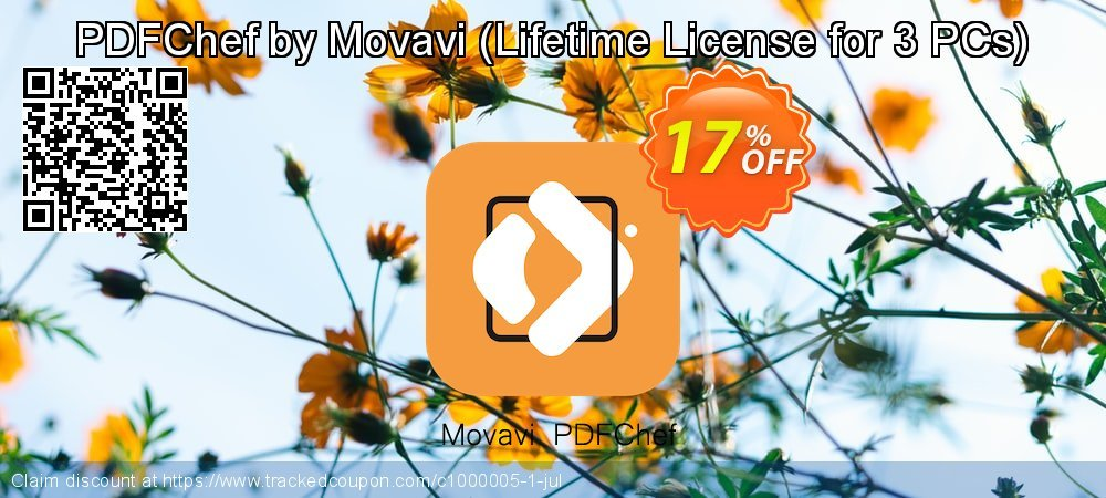 PDFChef by Movavi - Lifetime License for 3 PCs  coupon on Black Friday discounts