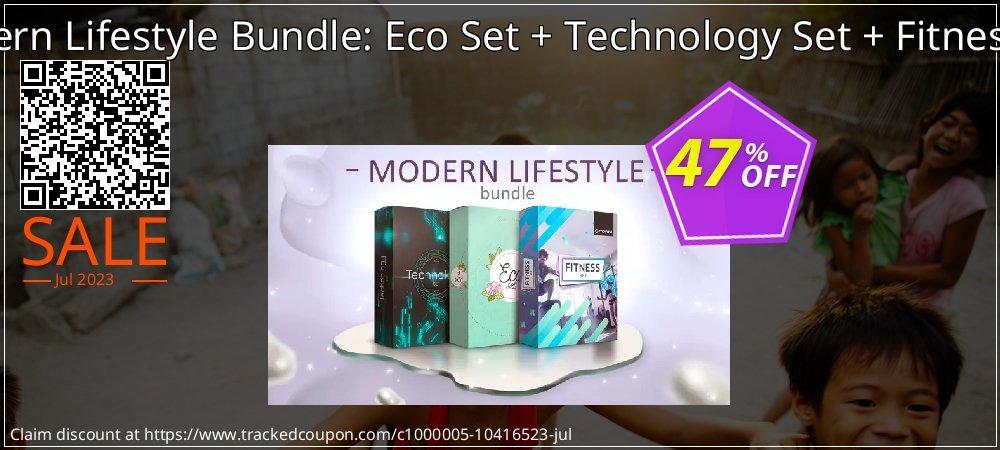 Modern Lifestyle Bundle: Eco Set + Technology Set + Fitness Set coupon on Lunar New Year sales