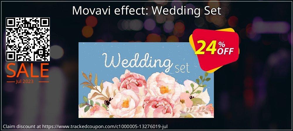 Movavi effect Wedding Set coupon on Black Friday promotions