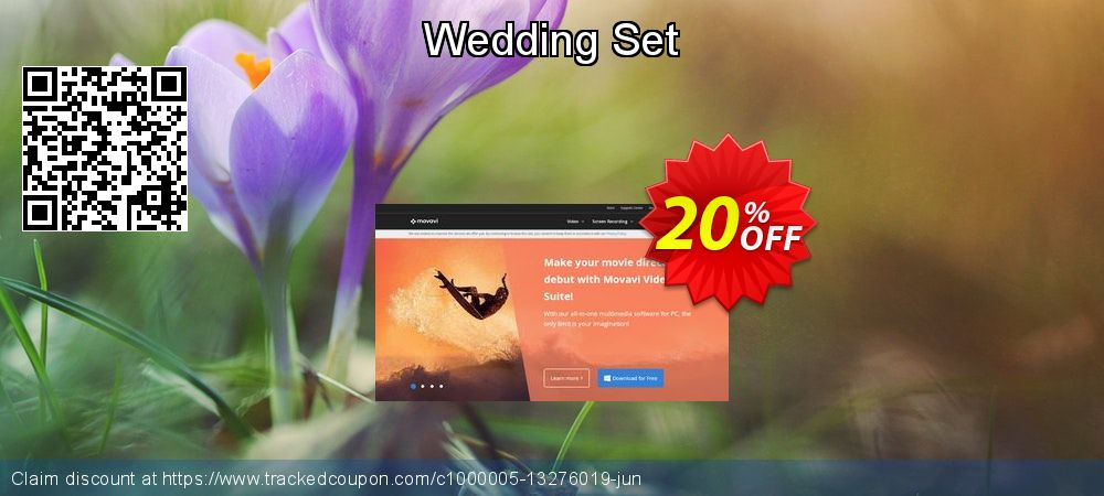 Movavi effect Wedding Set coupon on Back to School promotion super sale