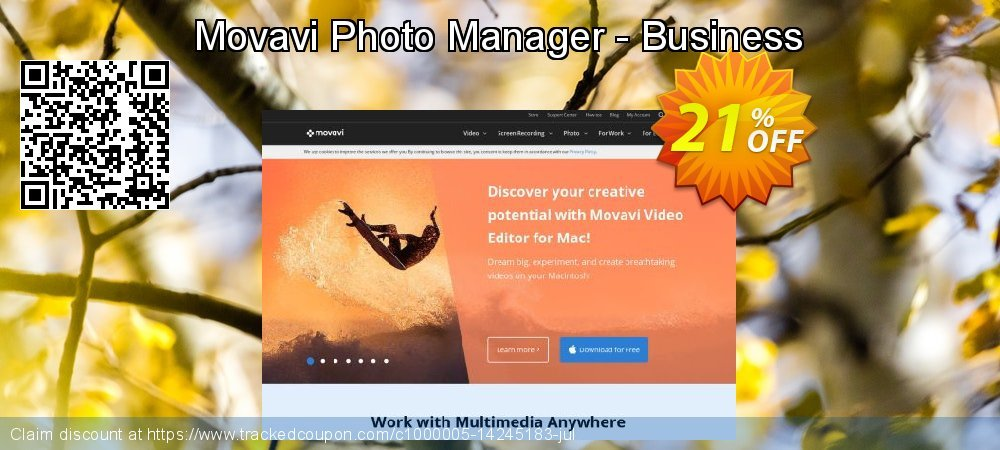 Movavi Photo Manager - Business coupon on Exclusive Student discount offering sales