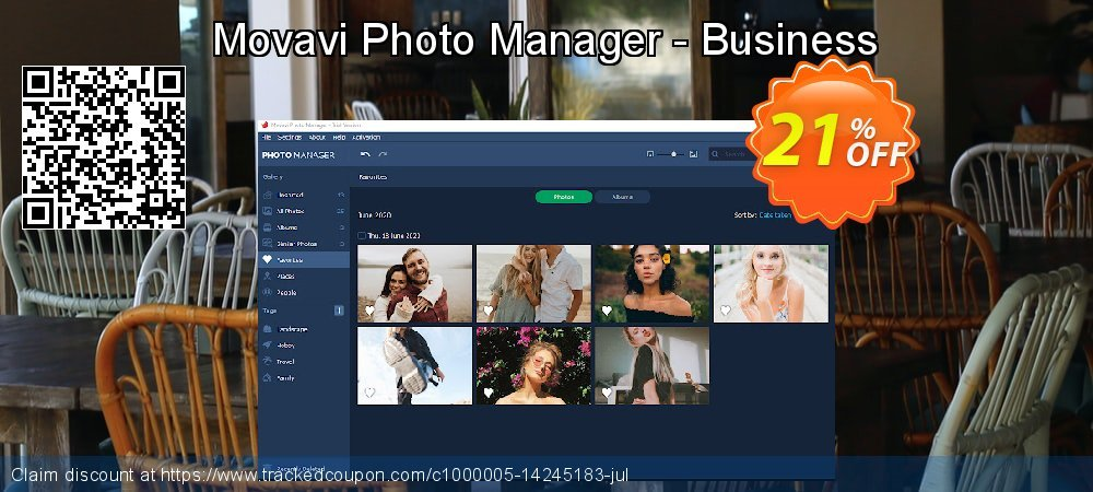 Movavi Photo Manager - Business coupon on Lunar New Year super sale