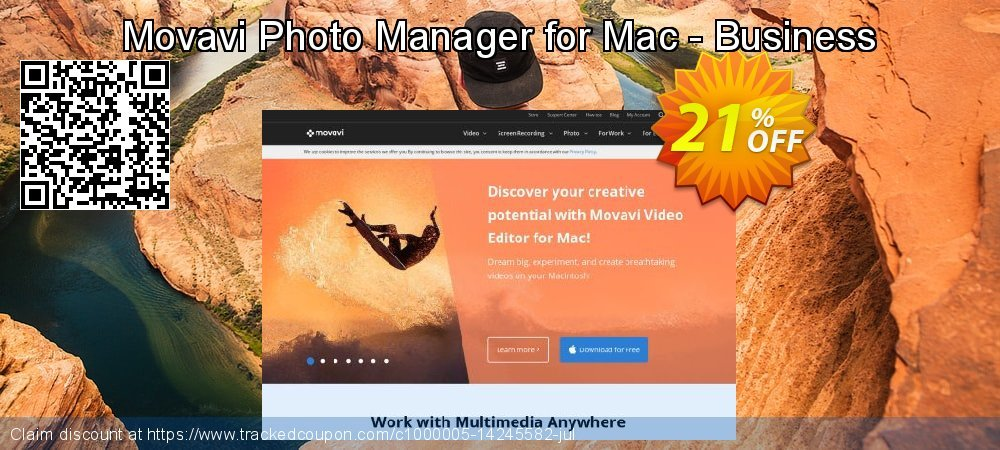Movavi Photo Manager for Mac - Business coupon on Halloween sales