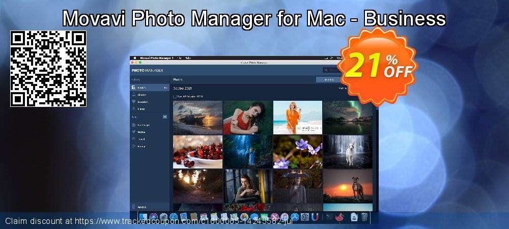 Movavi Photo Manager for Mac - Business coupon on Happy New Year sales
