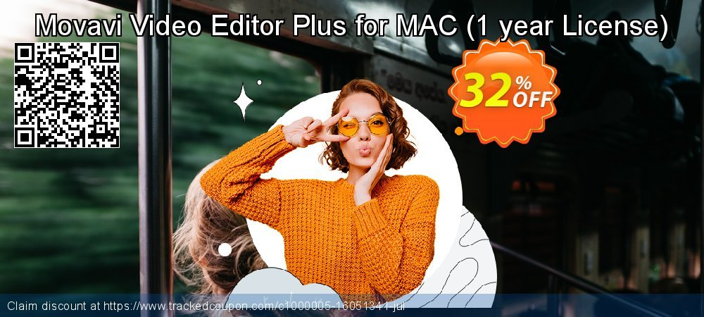 Movavi Video Editor Plus for MAC - 1 year  coupon on Halloween promotions