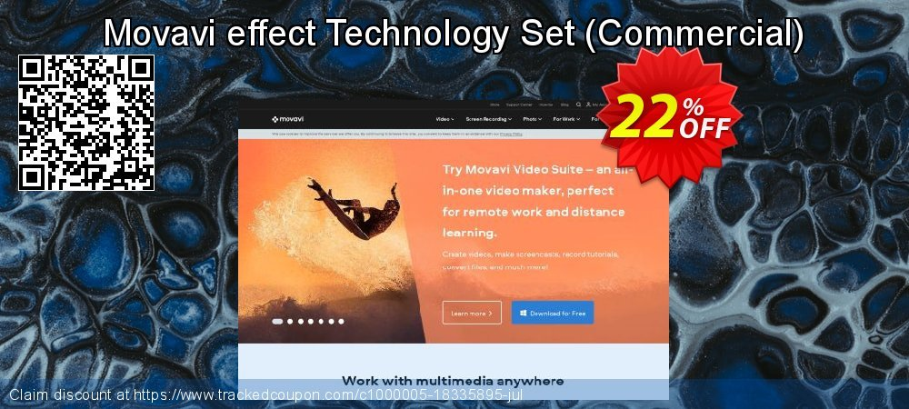 Movavi effect Technology Set – Business coupon on Black Friday discount