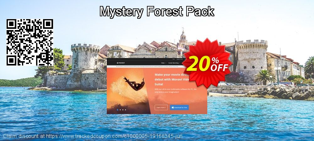 Movavi effect Mystery Forest Pack coupon on Back to School coupons offering sales