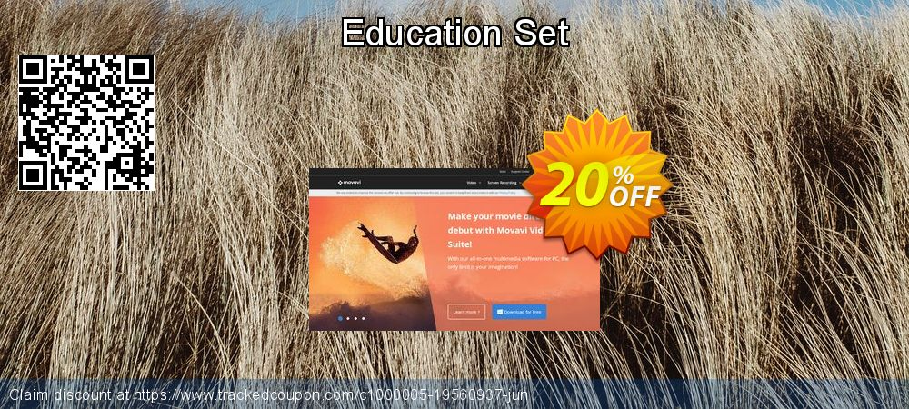 Movavi effect Education Set coupon on Back to School promo promotions
