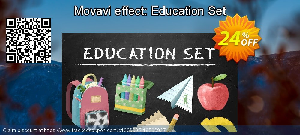 Movavi effect Education Set coupon on Black Friday deals