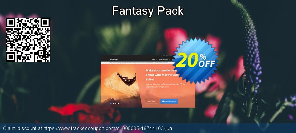 Movavi effect Fantasy Pack coupon on Exclusive Student deals super sale