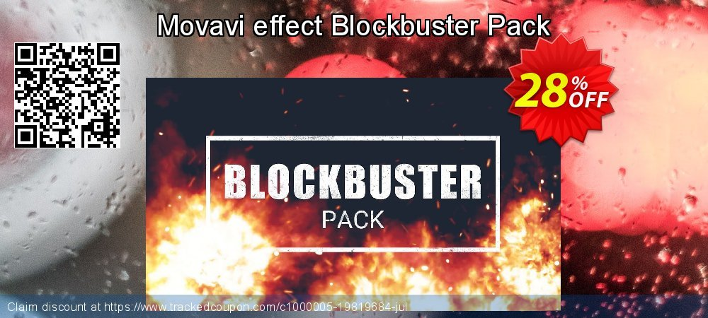 Movavi effect Blockbuster Pack coupon on Thanksgiving discounts