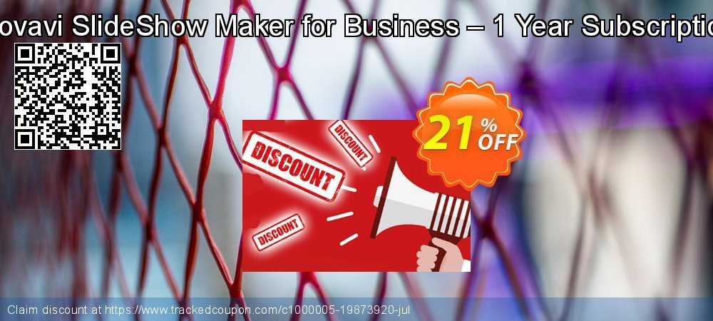 Movavi SlideShow Maker for Business – 1 Year Subscription coupon on University Student deals discounts