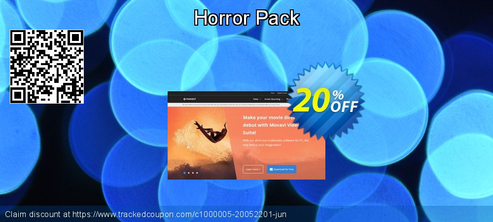 Movavi effect Horror Pack coupon on College Student deals discounts