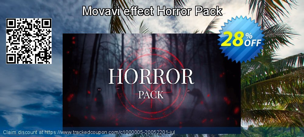 Movavi effect Horror Pack coupon on Black Friday sales