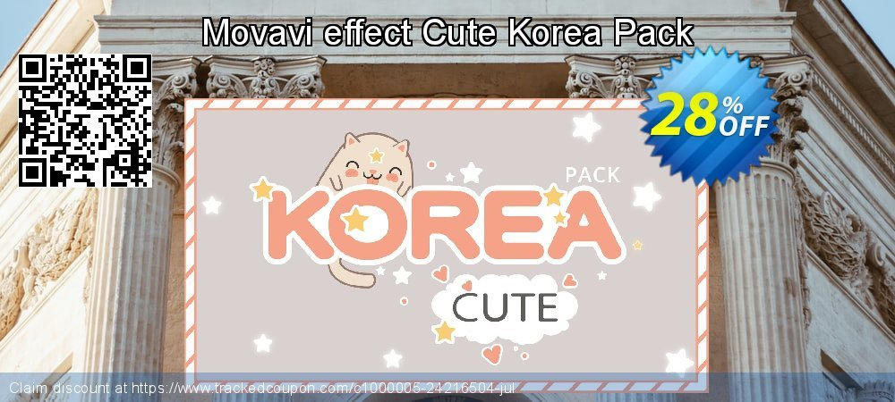 Movavi effect Cute Korea Pack coupon on April Fool's Day offering discount