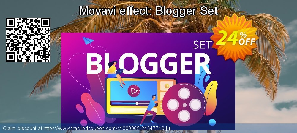 Movavi effect: Blogger Set coupon on Happy New Year super sale