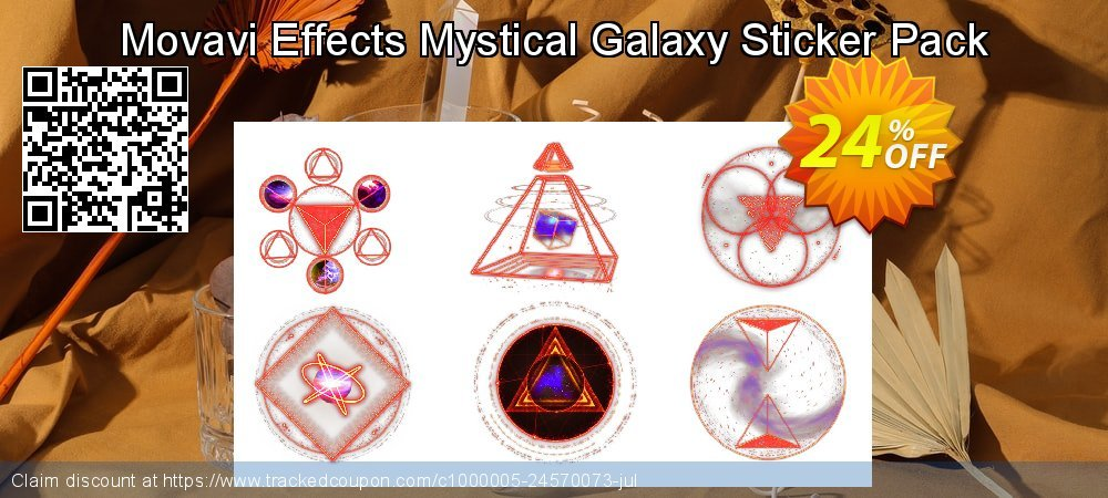 Movavi Effects Mystical Galaxy Sticker Pack coupon on Black Friday discounts