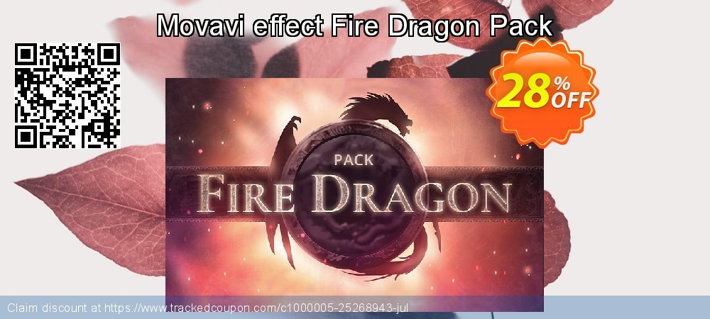 Movavi effect Fire Dragon Pack coupon on Back-to-School event discounts