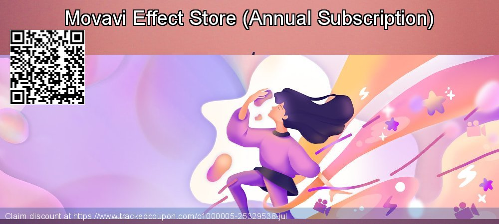 Movavi Effect Store - Annual Subscription  coupon on End of Year promotions