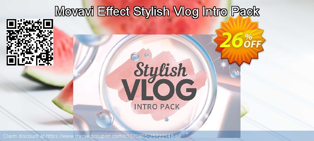 Movavi Effect Stylish Vlog Intro Pack coupon on New Year sales