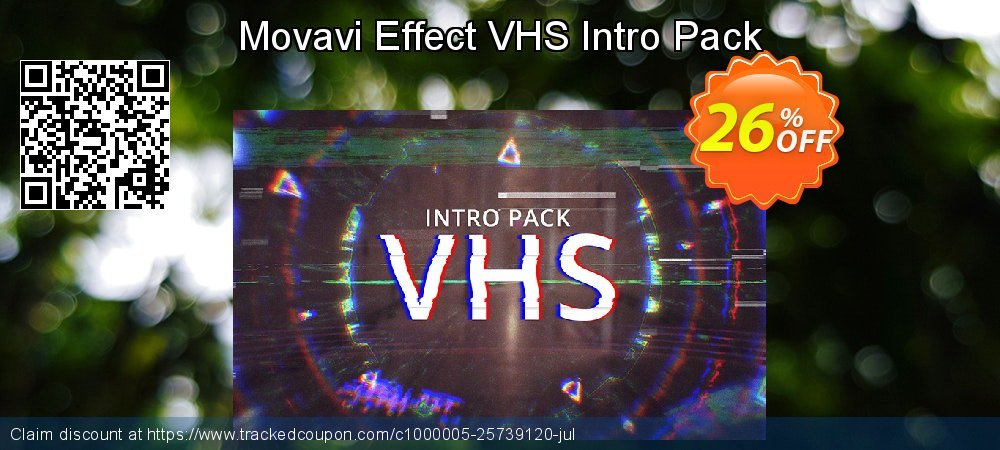 Movavi Effect VHS Intro Pack coupon on Student deals super sale