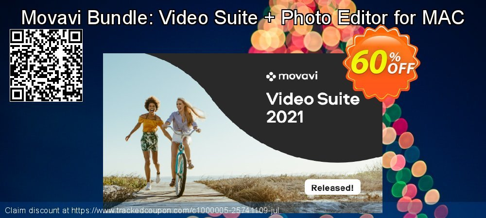 Movavi Bundle: Video Suite + Photo Editor for MAC coupon on Black Friday promotions