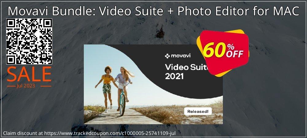 Movavi Bundle: Video Suite + Photo Editor for MAC coupon on Student deals super sale