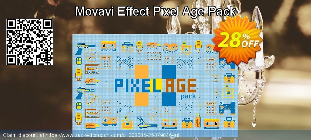 Movavi Effect Pixel Age Pack coupon on Exclusive Student deals sales