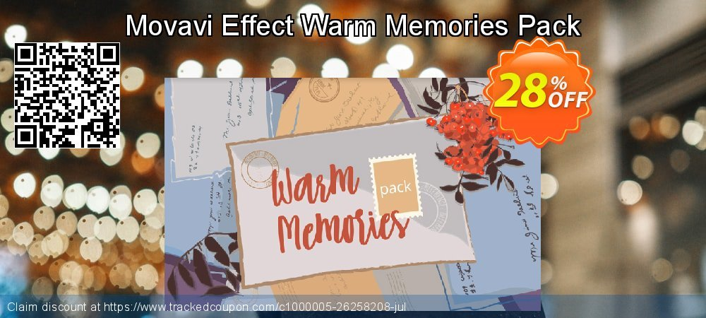 Movavi Effect Warm Memories Pack coupon on Back to School promotions deals