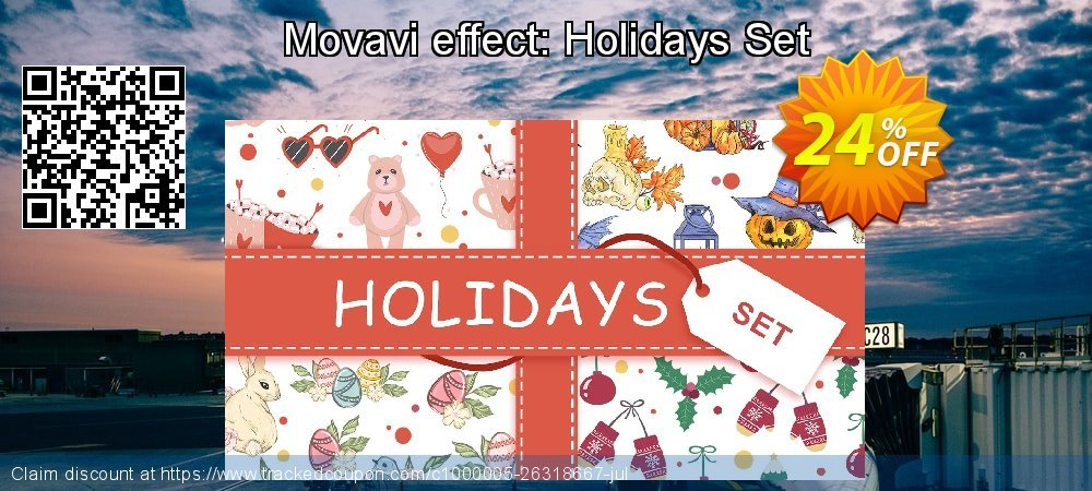 Movavi effect: Holidays Set coupon on Black Friday sales