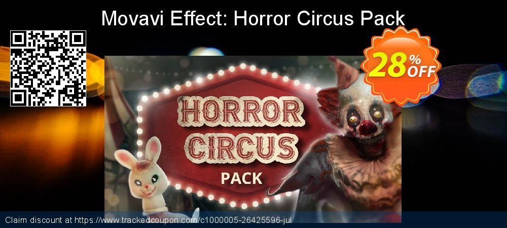 Get 20% OFF Movavi Effect Horror Circus Pack offering deals