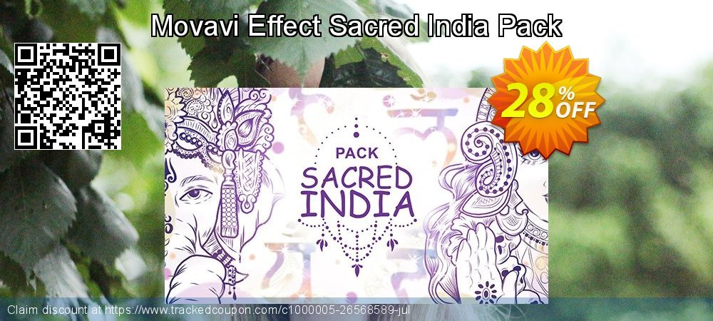 Movavi Effect Sacred India Pack coupon on New Year's Day sales