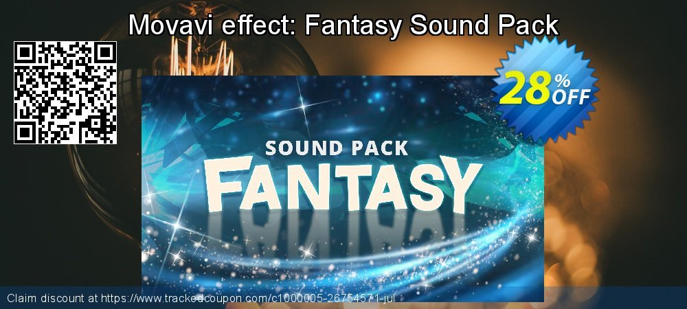 Movavi effect: Fantasy Sound Pack coupon on Black Friday discounts