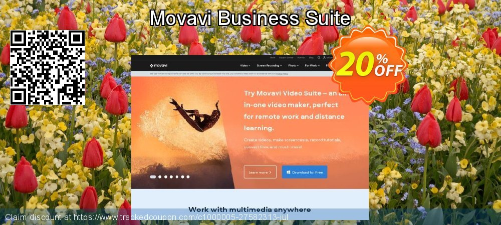 Movavi Business Suite coupon on Exclusive Teacher discount promotions