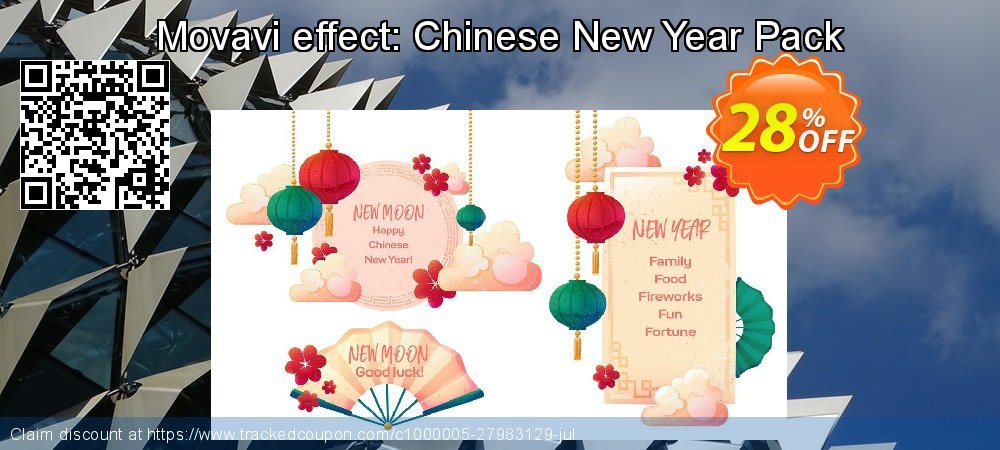 Movavi effect: Chinese New Year Pack coupon on New Year's Day deals