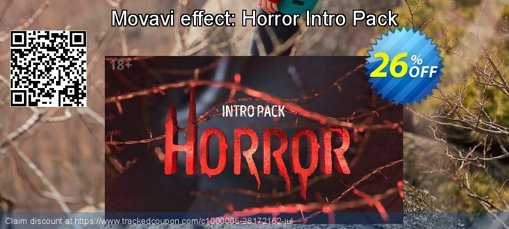 Movavi effect: Horror Intro Pack coupon on Happy New Year discounts