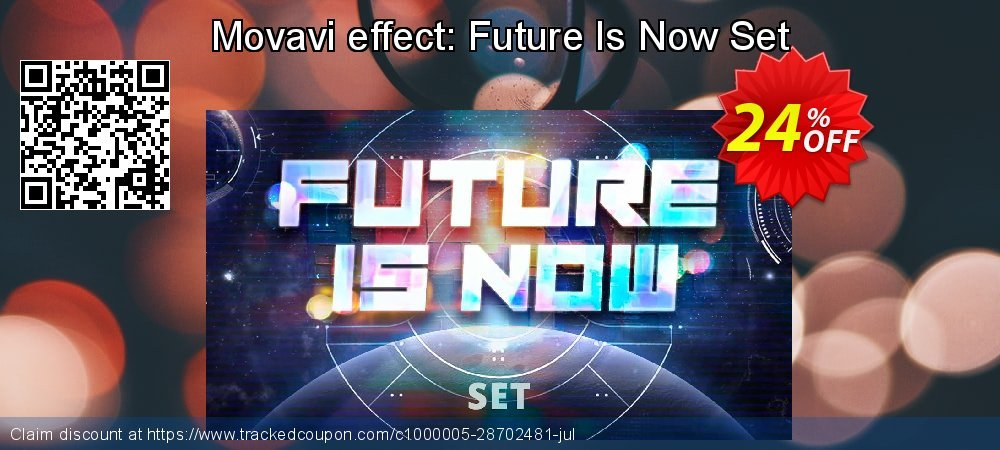 Movavi effect: Future Is Now Set coupon on New Year's Day deals