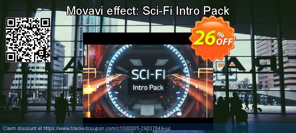 Movavi effect: Sci-Fi Intro Pack coupon on Exclusive Teacher discount promotions