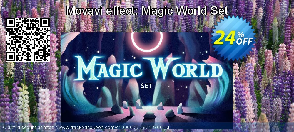 Movavi effect: Magic World Set coupon on New Year offering sales