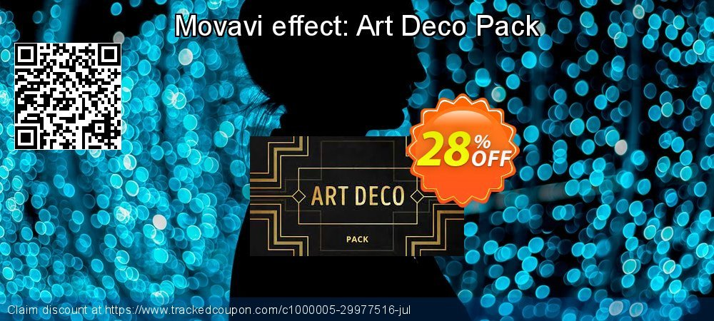 Movavi effect: Art Deco Pack coupon on Back to School promotion offering sales